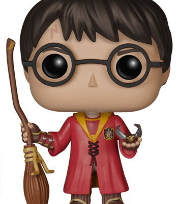Harry Potter Figura Funko Harry Potter Quidditch - EstoEsMiRuina