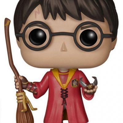 Harry Potter Figura Funko Harry Potter Quidditch - EstoEsMiRuina