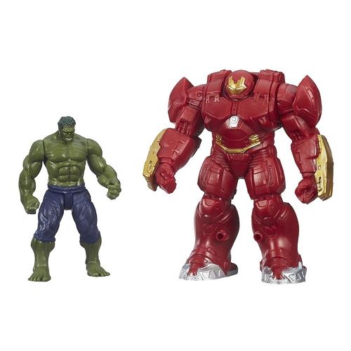 Los Vengadores - Figuras de Hulk y Ironman