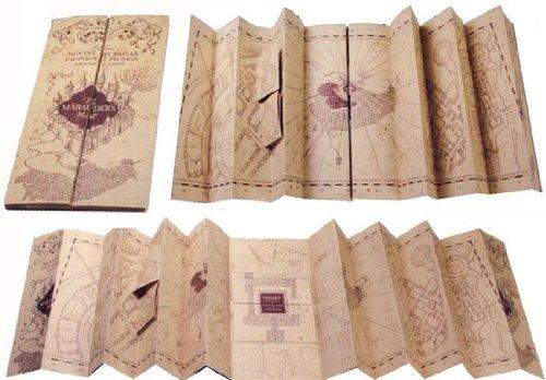 Mapa del Merodeador de Harry Potter - estoesmiruina.com